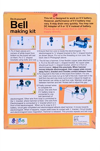 A13 electric bell making kit do it yourself educational toy do it yourself educational toy science project diy sale baby solutioingenieria Gallery