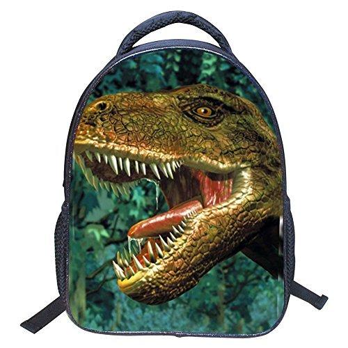 ELEOPTION 3D Kids Backpack Dinosaur Animal Printed Children's School Bag for Kindergarten Toddler Boys Girls Elementary School (Dinosaur-4)