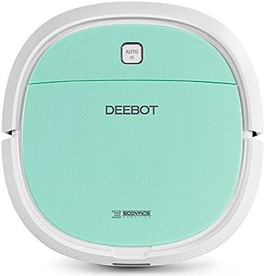 Ecovacs Robotics Deebot Mini -  Robot aspirador ultrafino con aspiración directa (optimizado para pelo de mascotas)