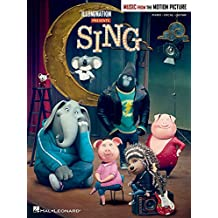 Sing - Music From The Motion Picture (PVG Book): Songbook für Klavier, Gesang, Gitarre