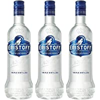 Eristoff Vodka - Pack de 3 botellas x 100 cl - Total: 300 cl