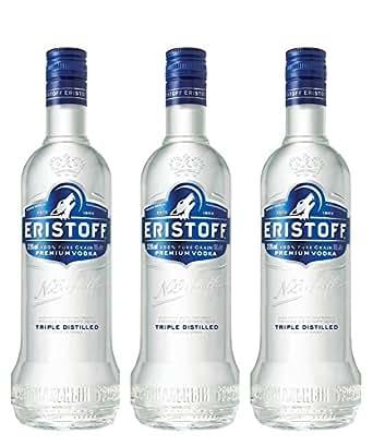 Eristoff Vodka 1L - Lot de 3