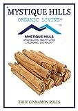 #10: Mystique Hills - Organic living Sri Lankan Cinnamon Rolls (Premium Quality) (100 Gr)