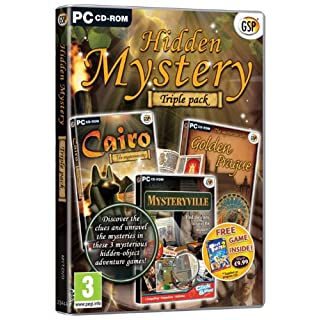 Hidden Mystery Triple Pack (PC CD)