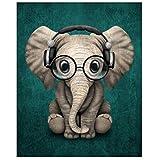 Diamant Malerei, nelnissa Little Elefant Diamant Gemälde Stickerei DIY Kreuzstich Home Decor