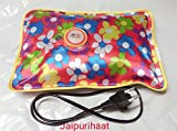 #6: Jaipuri Haat Electric Heat Bag Hot Gel Bottle Pouch Massager Pain Reliefer in Rectangle Shaped (Assorted Design & Color)