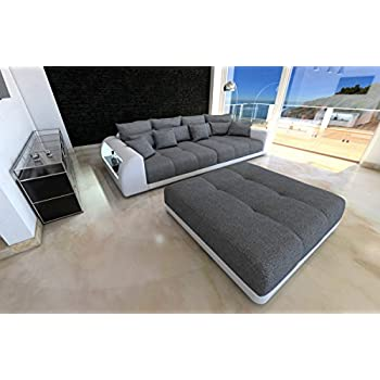 Megasofa rose  Megasofa Loungesofa Ecksofa Sofa Couch Bigsofa ROSE X NewLook ...