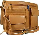 Visconti Damen Leder-Umhängetasche/messenger-bag, sand/753 - Best Reviews Guide