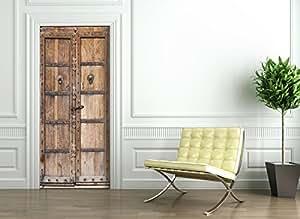t rtapete selbstklebend t rposter antik t r fototapete t rfolie poster tapete. Black Bedroom Furniture Sets. Home Design Ideas