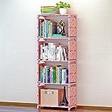 FENG Bücherregal Regal des kreativen Bücherregals des kreativen Bücherregals des kreativen Kombinationsfußbodens Kinder, glück,Dass Kirsche