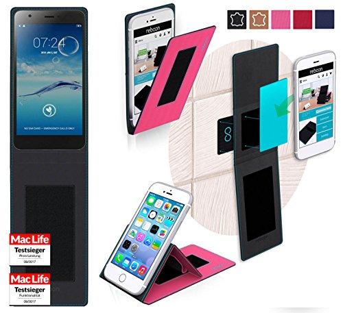 reboon Hülle für Jiayu S3 Tasche Cover Case Bumper | Pink | Testsieger