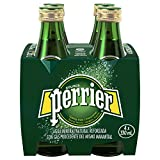 Perrier Nature's Basket Vidrio Agua Mineral Natural con Gas - Pack de 4 x 33 cl -...