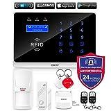 ERAY WM3FX Sistema de Alarma WiFi + gsm/ 3G, Alarmas para Casa, Antirrobo,...