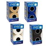 8 Rollen PureOne Allround Premium Bandage | Selbsthaftend Latexfrei Flexibel Atmungsaktiv | Schutz, Fixier- und Kompressionsverbände Narbenbehandlung | 4er Doppelpack Skin