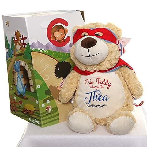Personalised Classic Hero Bear Cubby Teddy