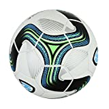GermanWear Striker Fußball Größe 5 PU 1,0 mm Thermo Bonded Match Ball Turnierball