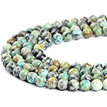 8d5aecd233c6 Perlas color turquesa africanas de 2 mm