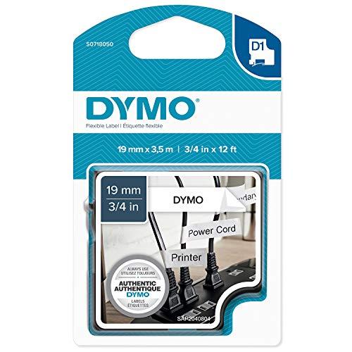 Dymo Tape D1 Flexible Nylon 19mm x 3,5m Tape flexibel Type D1 (S0718050) -