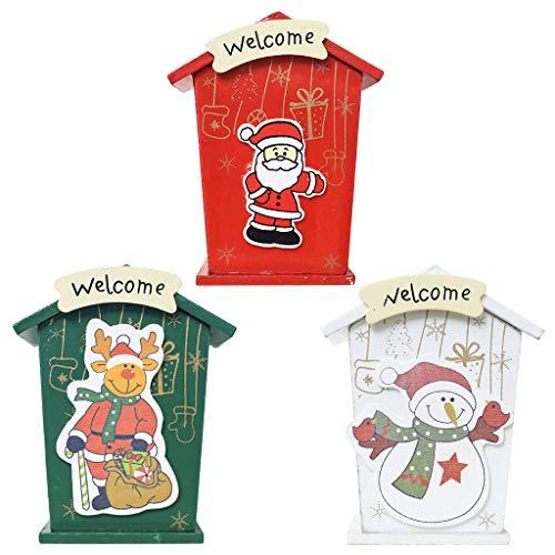 Freshsell - Hucha Madera diseño casa Navidad