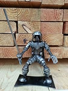 Darth Vader fait main Sculpture à partir de ferraille et de pièces de voitures–Star Wars