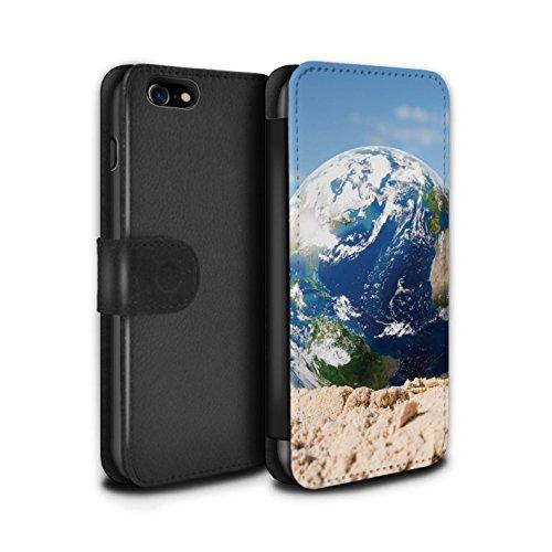 Stuff4 Coque/Etui/Housse Cuir PU Case/Cover pour Apple iPhone 8 / Amendes Stationnement Design / Vers Bas Sous Collection Chauffage Global