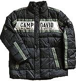 Camp David Herren Winter - Jacke gesteppt Stehkragen CCU-1810-2227 S M L XL XXL XXXL (XXXL, Black)