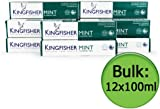 Kingfisher Mint Fluoride Free Toothpaste 100ml (Pack of 12 )