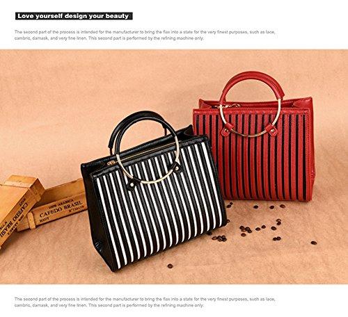 VOLSGEAT Borsa Messenger, Red (rosso) - LZN_B769 Red