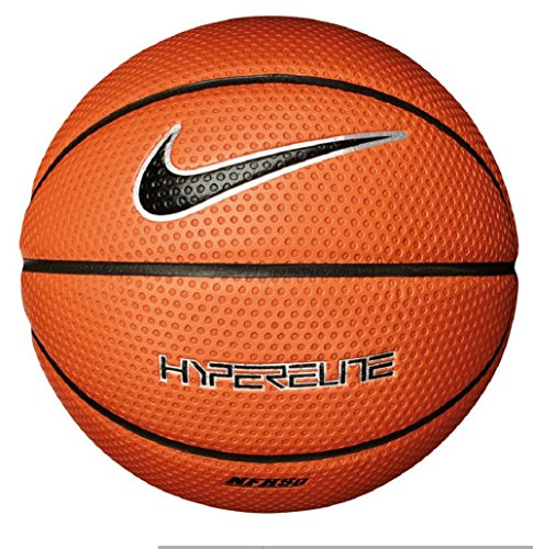 Nike Jordan Hyper Elite 8Panel Basketball, amber/black amber/black