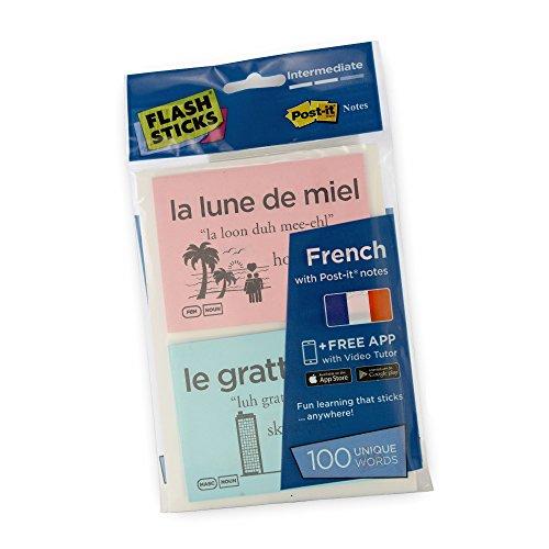 Lab-bereiche-karte (FlashSticks Französisch lernen, Level 2