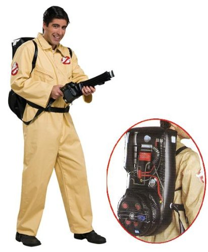 Kostüm Herren Ghostbuster - Herren Ghostbusters Kostüm Geisterjäger Größe 48 bis 52