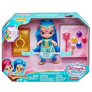 Shimmer and Shine FHN28 Mattel Fisher-Price Floating Genie Shine - Juego de muñecas flotantes