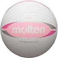 40x Molten Softball s2V1550de inodoro s2V1550de WG s2V1550de WP suave niño pueblos pelota de Escuela + RS de Sports Bolígrafo, blanco/rosa, 155g, Ø 200 mm155 g