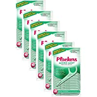 Plackers Micro Mint Flossers, 90 count by