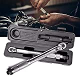 Drive Torque Wrench, Adjustable Hand Spanner Ratchet Repair Tools Torque