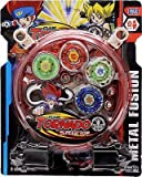 Blossom 4 Beyblade Set Clash Tornado Speed Top with Stadium Metal Fusion