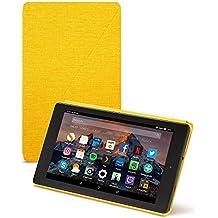 Amazon - Funda para Fire HD 8 (tablet de 8 pulgadas, 7ª generación, modelo de 2017), Amarillo