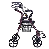 Harvest EU/Älterer Trolley Älterer Warenkorb Buy Scooter Vierrad Aluminiumlegierung Faltbarer Canter Rollstuhl