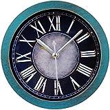 GAOHL Reloj de escritorio 3D reloj numeral cuando madera romana , green