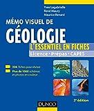 Mémo visuel de géologie - 2e éd. : L'essentiel en fiches et en couleurs (Tout en fiches)...