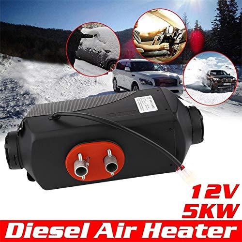 Calentador aire 5000W 12V tubo conducto ventilación