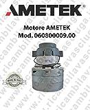 Moteur aspiration Ametek Italie 060800009.00pour installations centralisés