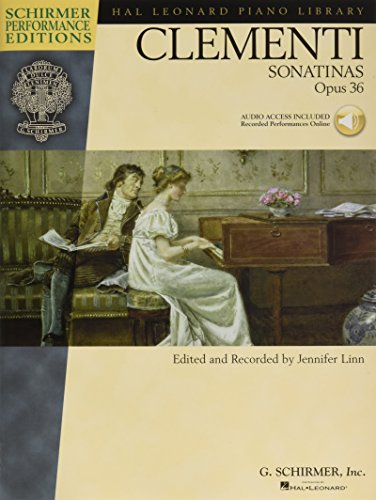 Sonatinas, Opus 36 Piano +Enregistrements Online (Schirmer Performance Editions)