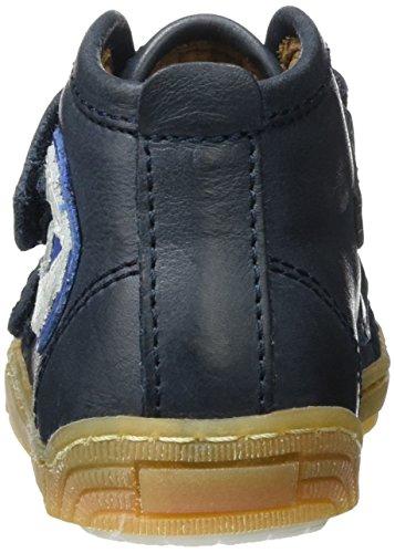 Bisgaard Klettschuhe, Sneakers basses mixte enfant Blau (601 Blue)