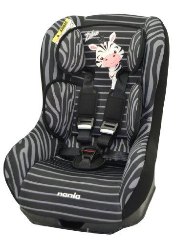 Nania e101-113-145, Seggiolino da auto per bambini, Nero (schwarz)