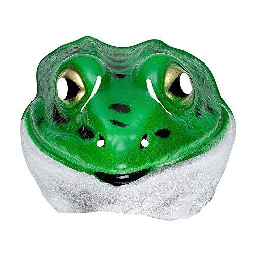 PARTY DISCOUNT Maske Frosch aus ()