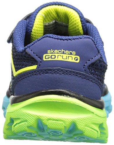 Skechers GO Run RideGO Too Jungen Sneakers Blau (Nvbl)