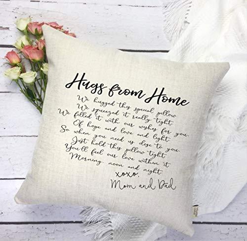 H34565ard - federa per cuscino con scritta going away, idea regalo per la persona amata