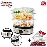 Steam Gourmet Pro® Dampfgarer Pressure Cooker 80 Watt - Original aus TV-Werbung