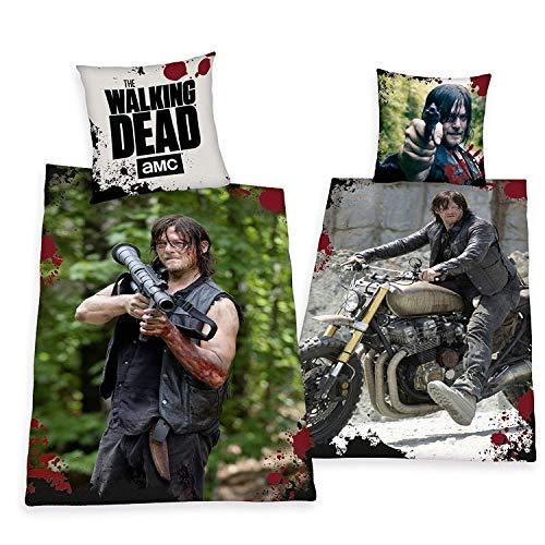 Bettwäsche Herding The Walking Dead Daryl Dixon Sondermodell 135 x 200 cm Geschenk All-In-One-Outlet-24 -